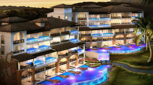 Sandals is expanding in the Caribbean with Sandals LaSource Saint Lucia