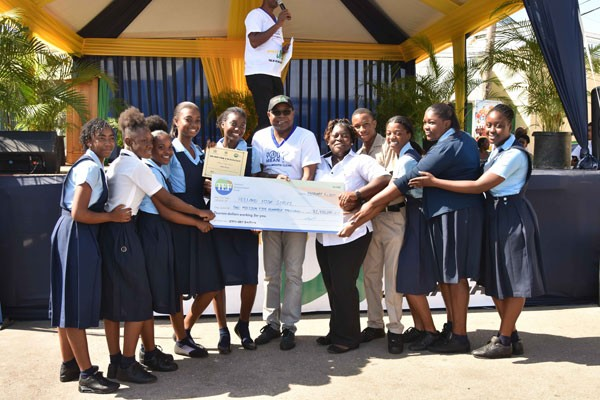 Holland High winner in Recycling Competition