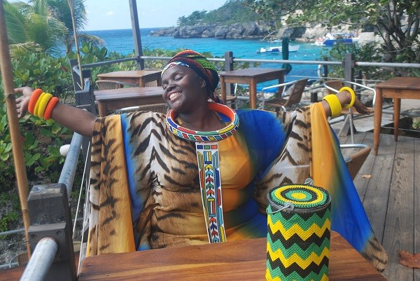 Jessica-Mbangeni-enjoying-the-day-at-Rockhouse-Resort--Spa