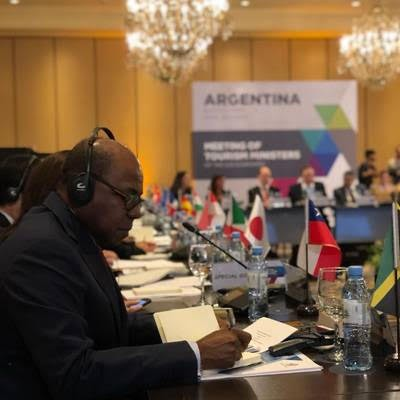 Tourism Minister Lobbies for SMTE Support at G-20 Meeting in Argentina