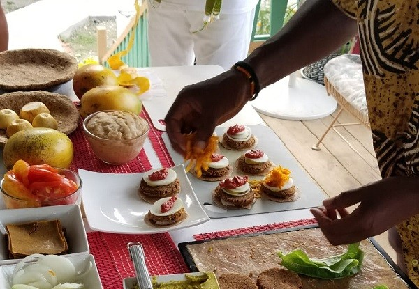 The 'Father of Gourmet Ethical Raw Foods Cuisine' Returns to Jamaica